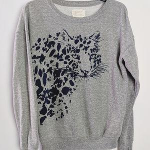 Current Elliott RARE Greta Prey Sweatshirt Sz L